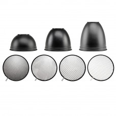 Набор рефлекторов Hensel 5063 9-inch honeycomb reflector set, арт.5063