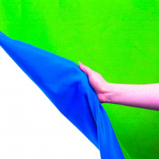 Фон хромакей Lastolite Chromakey Curtain Reversible 3 x 7m Blue/Green, арт.LL LC5887