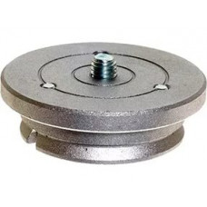Площадка Manfrotto 400PL-MED Quick Release Plate (23mm) for 400 Deluxe Geared Head, арт.400PL-MED