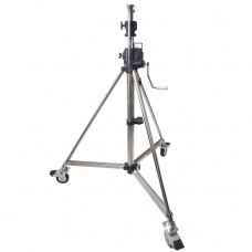 Студийная стойка освещения Kupo 484 Heavy Duty Wind-up Stell Stand w/Casters Lighting Stand, арт.484