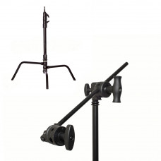 "Си-стенд с грипом Kupo CT-20MKB Master C-Stand w/Turtle Base Kit (Stand, 2.5"" Grip Head & 20"" Grip Arm) - Black, арт.CT-20MKB"