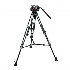 Видеоштатив с головкой Manfrotto 509HD,545BK Pro Middle-Twin Kit 100, арт.509HD,545BK