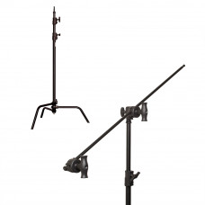 "Си-стенд с грипом Kupo CS-40MKB 40"" Sliding Leg Kit (Stand, 2.5"" Grip Head & 40"" Grip Arm) - Black, арт.CS-40MKB"