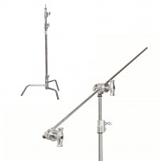 Си-стенд с грипом Kupo CT-40MK Master C-Stand w/Turtle Base Kit - Silver, арт.CT-40MK