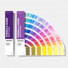 Цветовой справочник Pantone Formula Guide Solid Coated & Solid Uncoated, арт.GP1601A