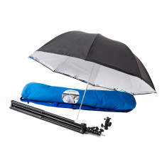 Фотозонт Lastolite 28'' Umbrella Kit All-In-One, Stand. LockTiltHead, Stand, Bag, арт.LU2473F