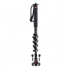 Видеомонопод Manfrotto MVMXPROC5 Carbon 5 section fluid video monopod, арт.MVMXPROC5