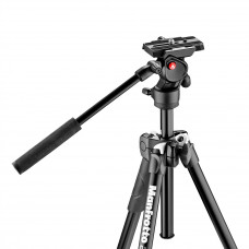 Видеоштатив с видеоголовкой Manfrotto MK290LTA3-V 290 tripod with befree live fluid video head, арт.MK290LTA3-V