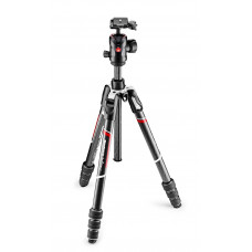 Штатив карбоновый с головкой Manfrotto Befree GT Carbon fibre Tripod twist lock, ball head, арт.MKBFRTC4GT-BH