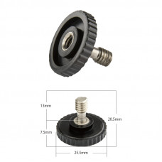 "Адаптер Kupo KS-141 1/4"" Male to 1/4"" female screw for tripod camera flash, арт.KS-141"