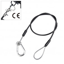 Kupo KUPO SW-04 dia. 3.2 mm, 75 cm length safety wire w/PVC Тросик страховочный