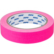 Тейп Kupo CS-2415PK Cloth Spike Tape, pink 24mm/13,72m, Скотч розовый, арт.CS-2415PK