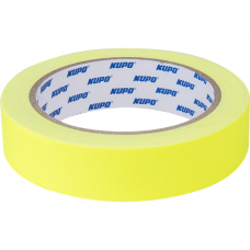 Тейп Kupo CS-2415Y Cloth Spike Tape, yellow 24mm/13,72m, Скотч желтый, арт.CS-2415Y