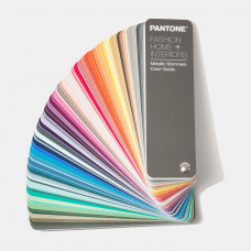 Цветовой справочник Pantone FHI Metallic Shimmers Color Guide, арт.FHIP310N